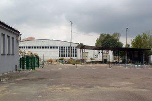 Główna hala zlikwidowanej Zajezdni Kraszewskiego.