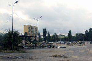Teren zlikwidowanej Zajezdni Kraszewskiego.