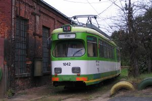 """""""Dziadek"""", wagon GT6 #42."""