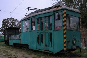 Wagon #103 z Tramwajów Podmiejskich.