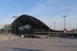 Dworzec od strony zachodnie.